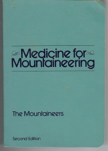 Book cover for Medicine for Mountaineering