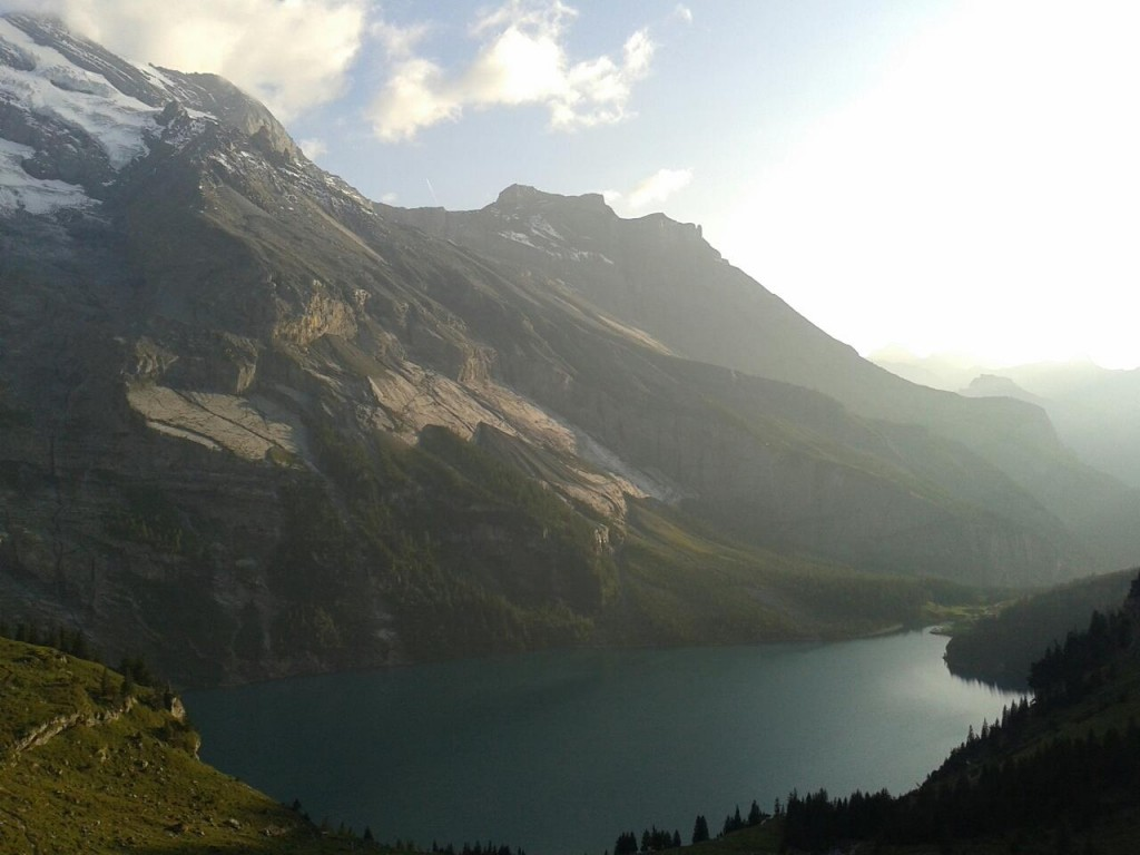 I didn't take this picture on my NOLS course. This is my backyard in Switzerland.