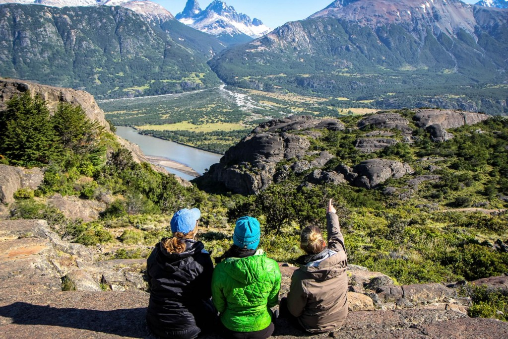 Students in Patagonia