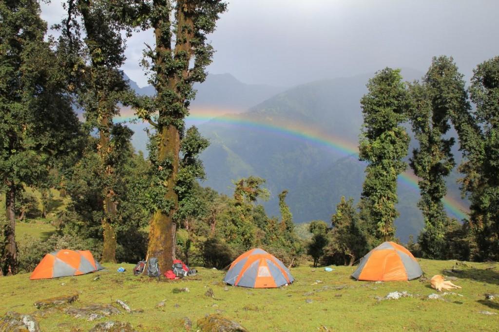 Rainbow in India