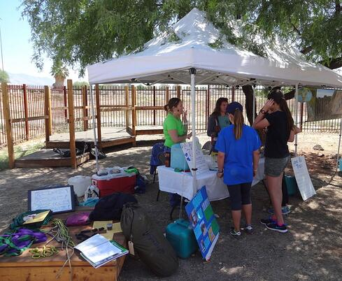 4H Earth Day Event with NOLS Southwest