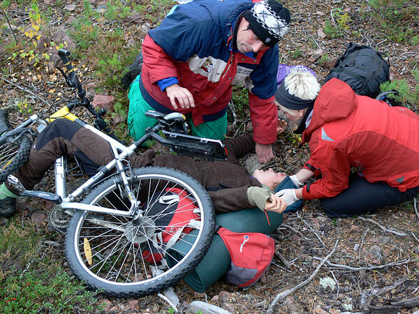 Bike-accident-scenario