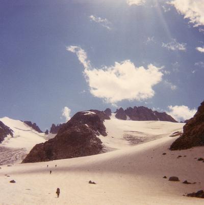 Kathy Fenton - Plunge Stepping, NOLS 1971