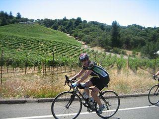 Daniella Biking at Vineman