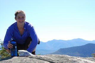 Daniella on Mount Cabit