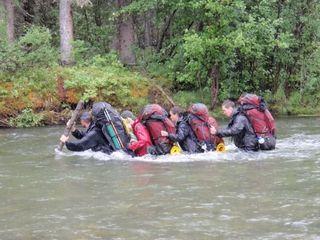 River Crossing Yukon