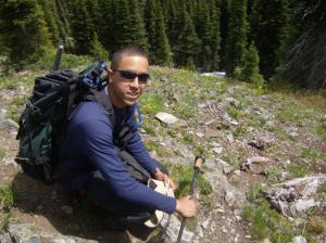Luis Rosario, 2009 Pacific Northwest Trip Leader alumnus.