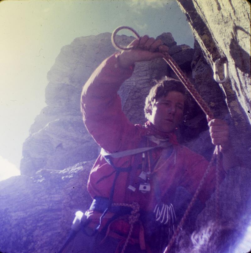 Don Peterson on Peter Metcalf's NOLS course.
