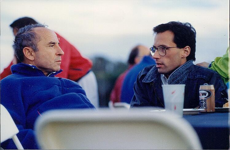 Yvon Chouinard and Peter Metcalf