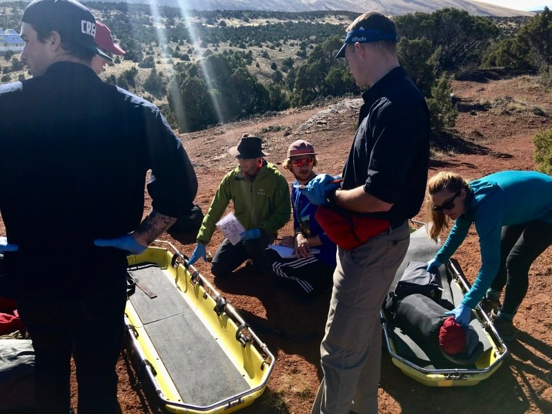 Preparing for future careers with wilderness first aid training