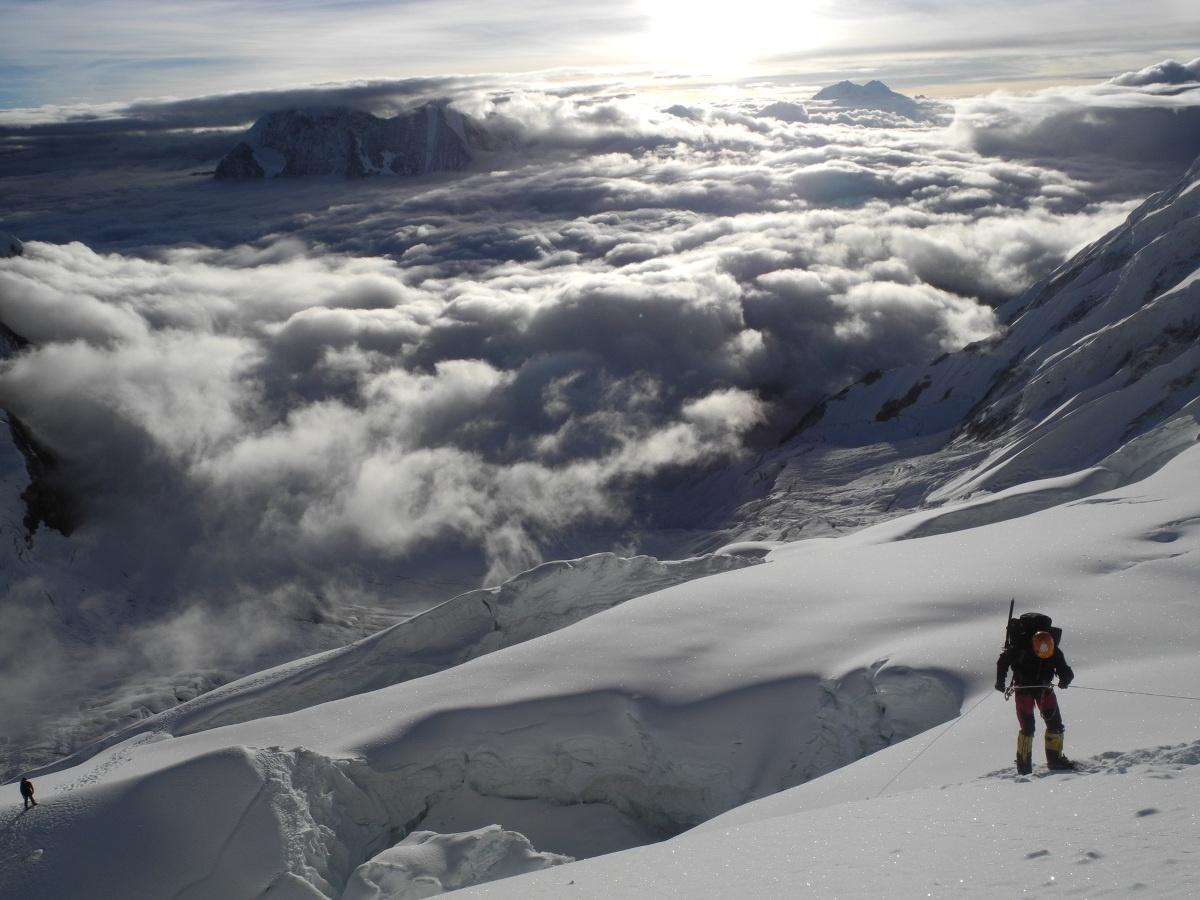 Climbing in the Himalaya