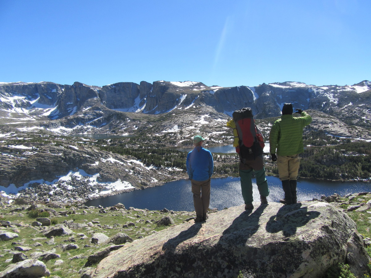 Looking for a route backpacking in the Wind River Range