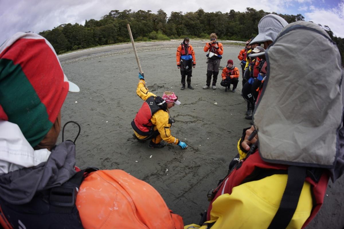 Sea kayaking class