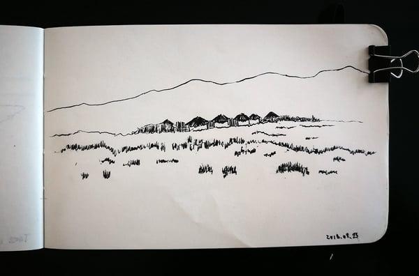 Maasai huts