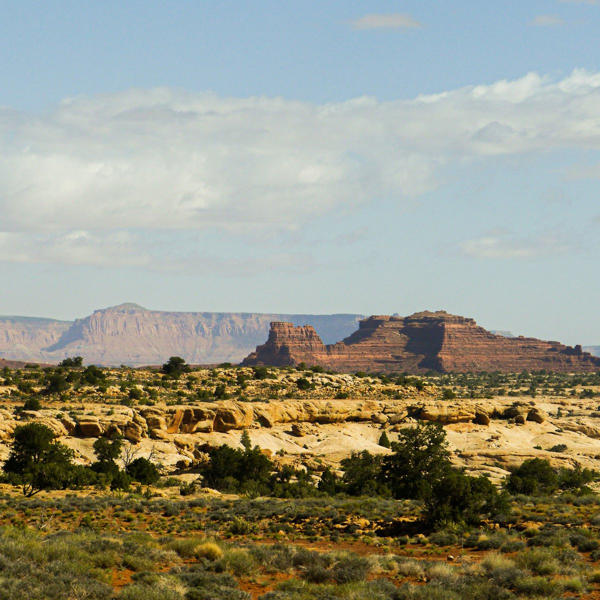Scenic image of canyonlands in Utah