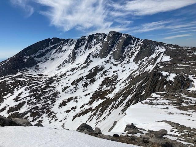 View of Mount Evans