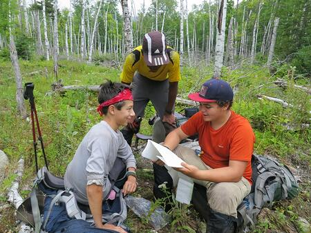 Practicing Navigation at NOLS Northeast