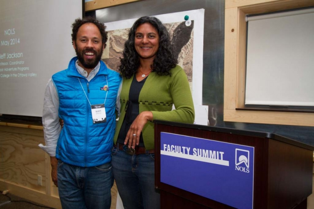 At the NOLS Faculty Summit