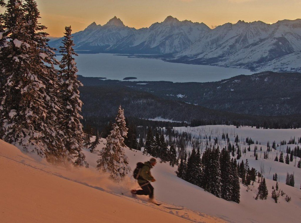 Skiing in Teton Valley with NOLS