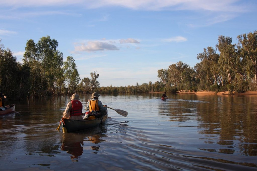 Canoeing the Drysdale River