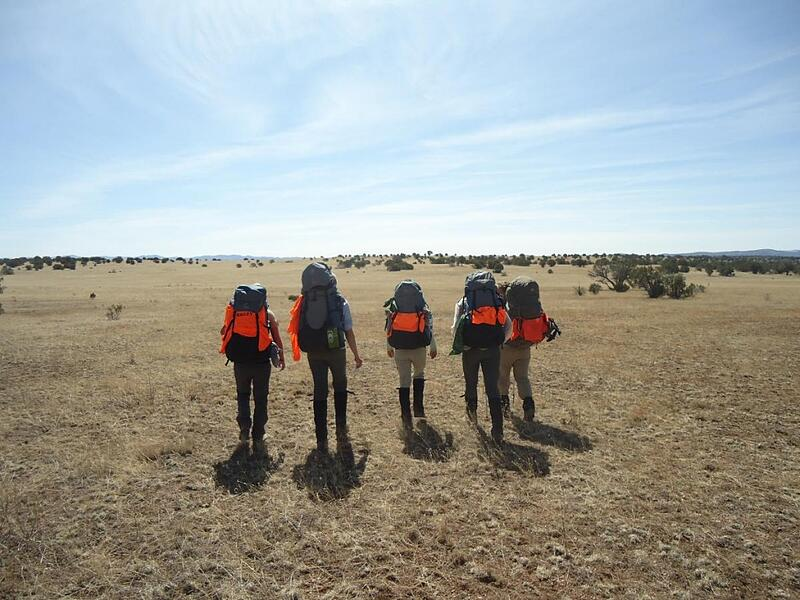 Backpacking in the Southwest