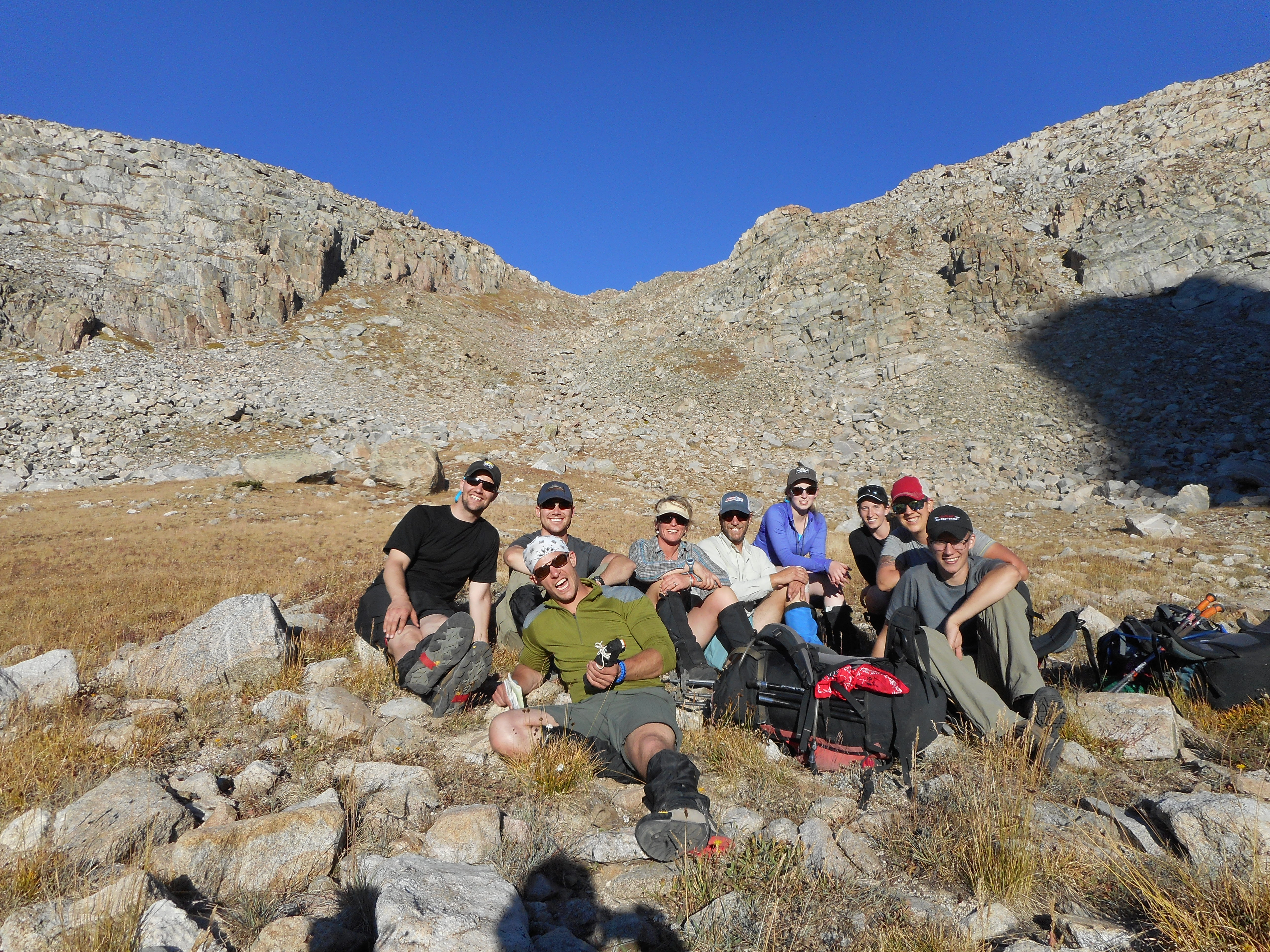 Learning Leadership in the Wind River Range