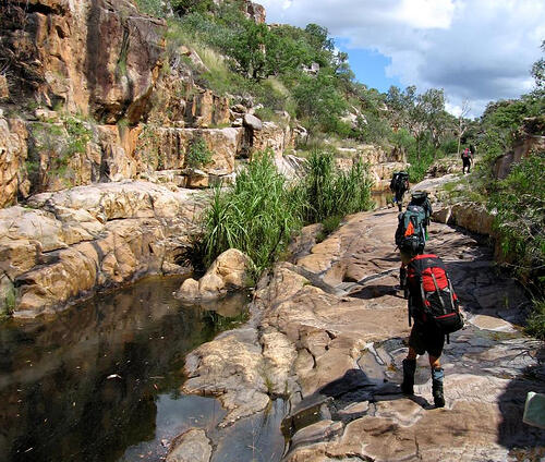 Backpacking at NOLS Australia