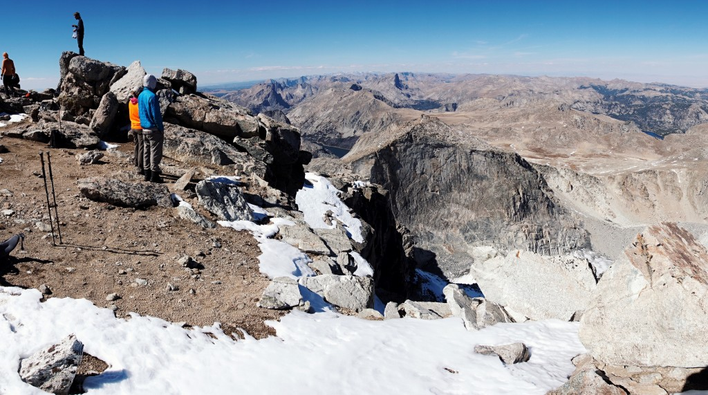Summit of Wind River Peak