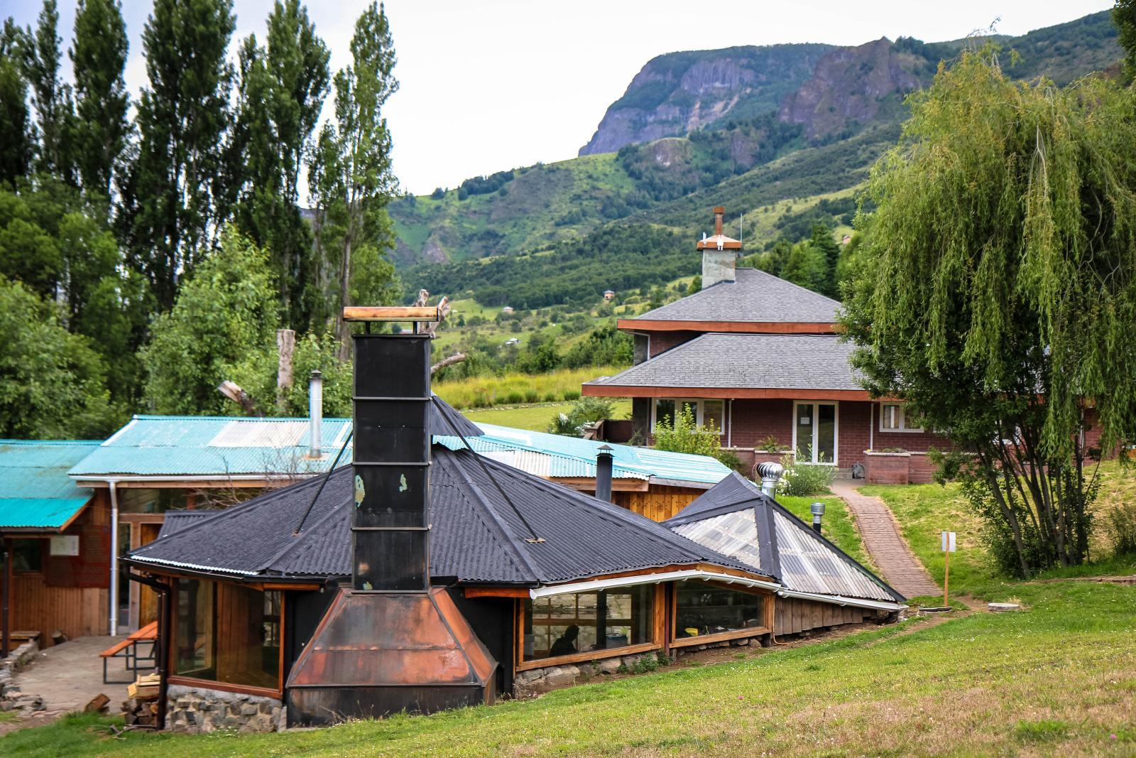 Buildings of the NOLS Patagonia campus
