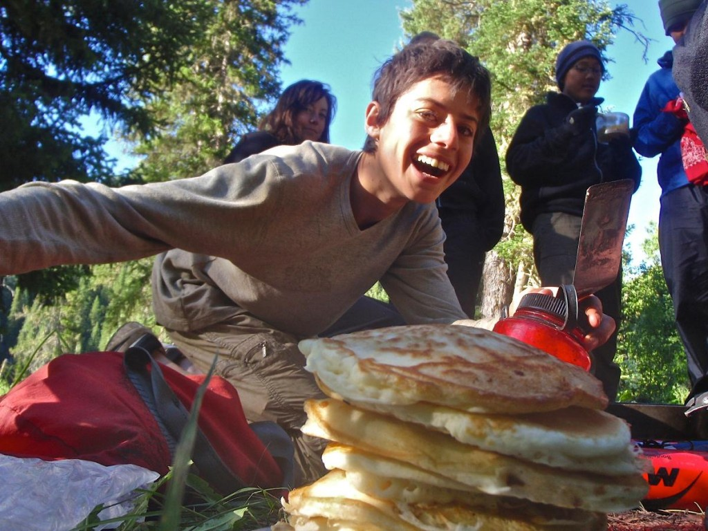 Mmm, Pancakes with NOLS