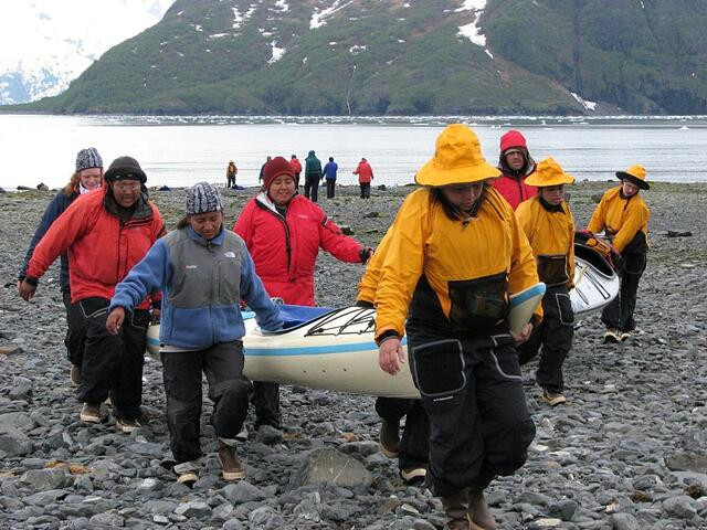 Teamwork in NOLS Alaska