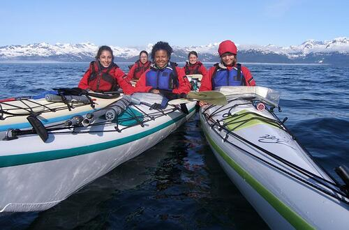 Sea Kayaking at NOLS Alaska