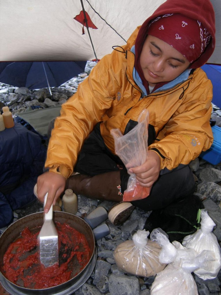 Careful Preparation for a Backcountry Dinner