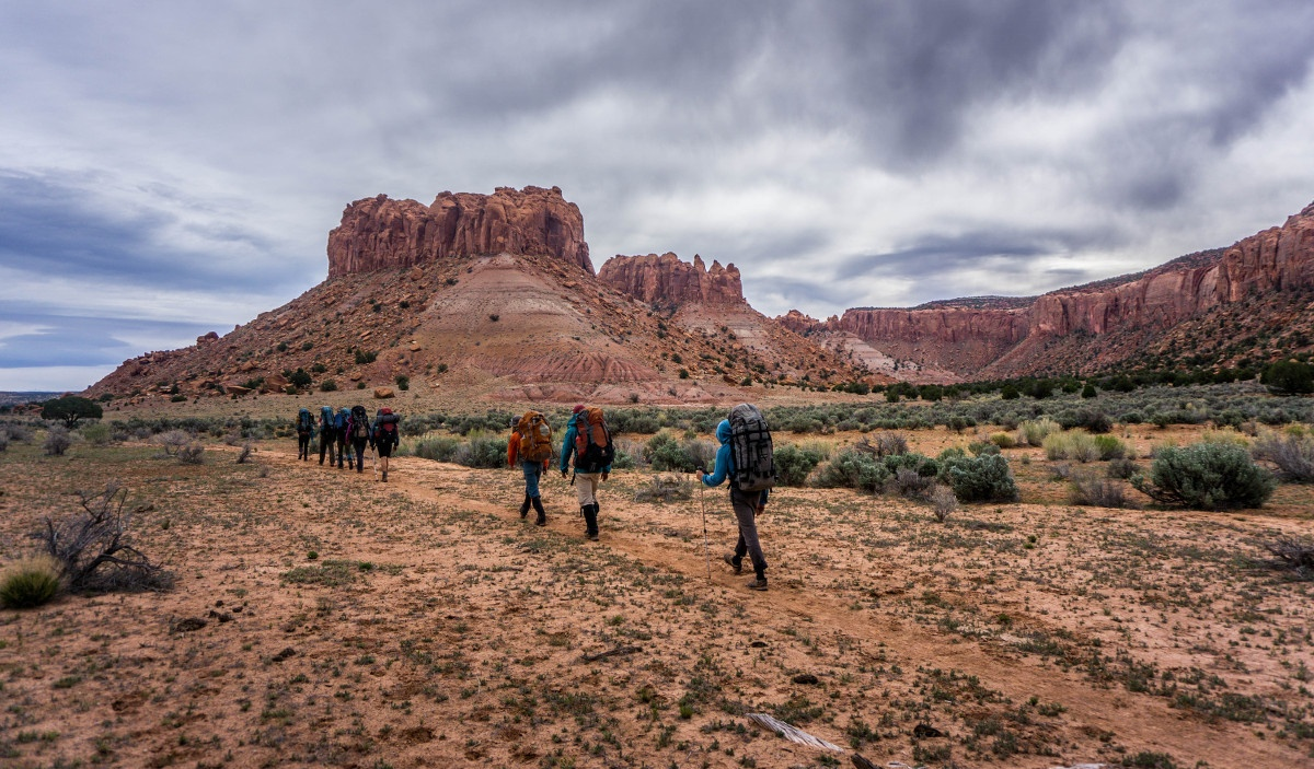 Hiking in Escalante