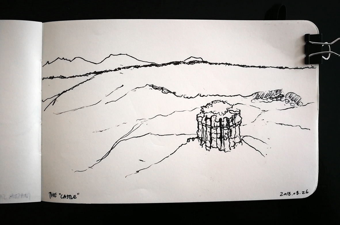 Olduvai Gorge: The Castle