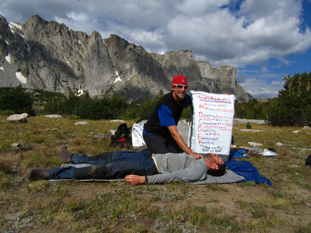 Teaching wilderness first aid—in the wilderness