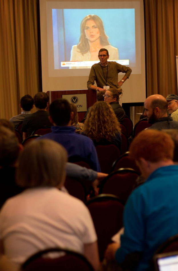 A large presentation at 2012 WRMC