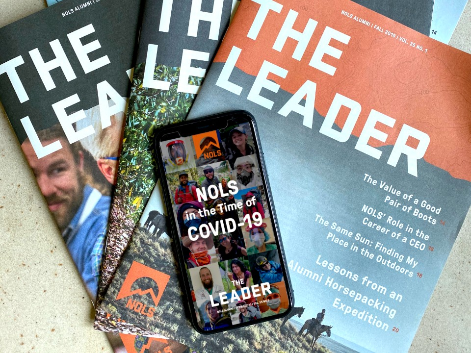 Leader magazine print and digital covers