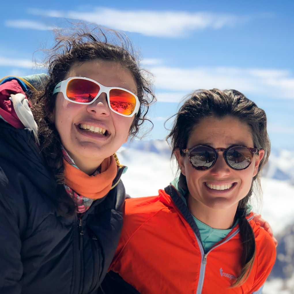 Isidora Llarena and Nadine Lehner