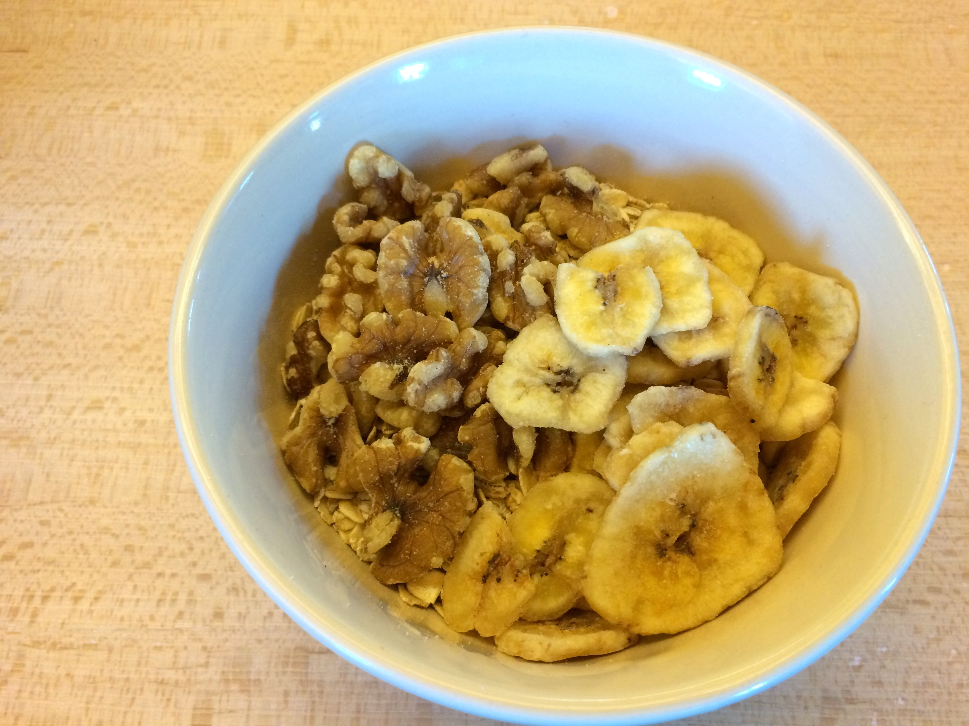 Banana Walnut Oatmeal