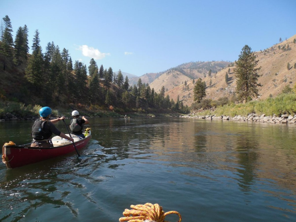 Canoeing at NOLS