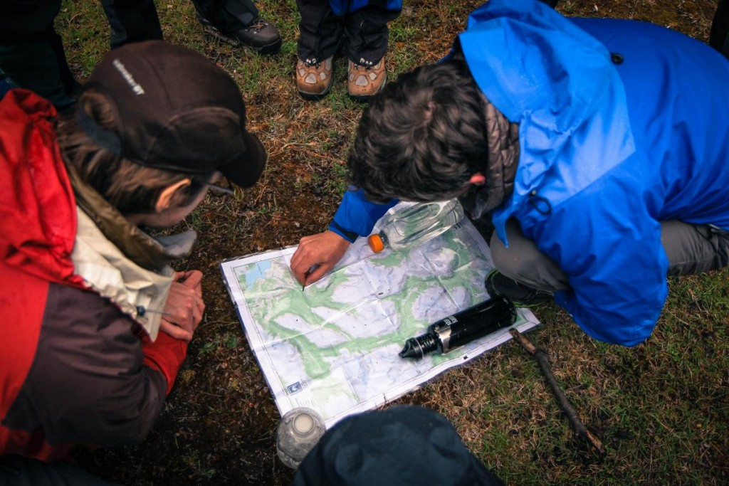 Map Reading in Patagonia