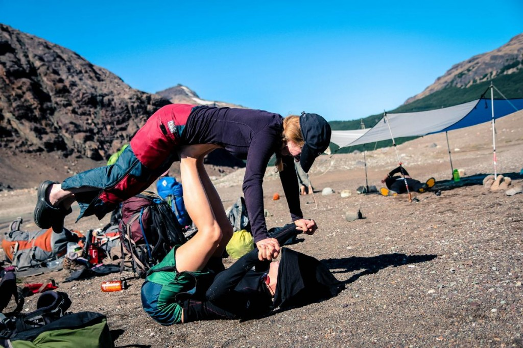 Teamwork at NOLS Patagonia