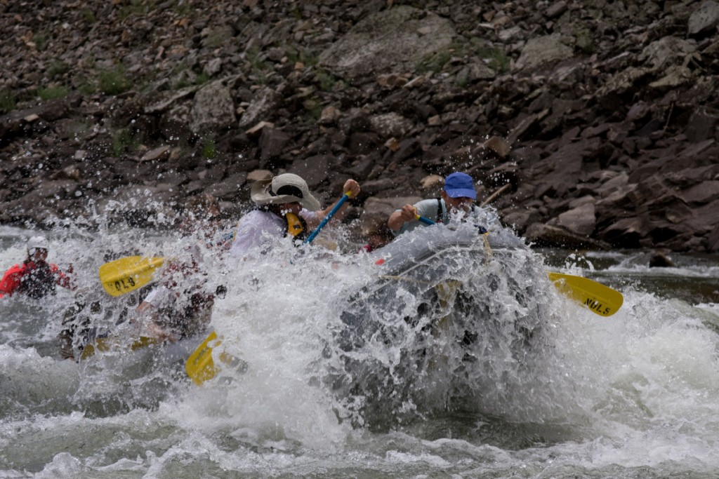 Whitewater Rapid