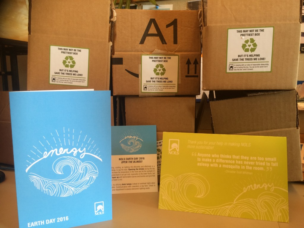 NOLS sustainability kits