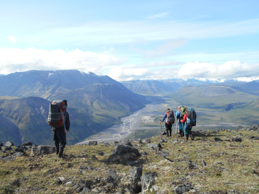 Backpacking in an Alaska National Park