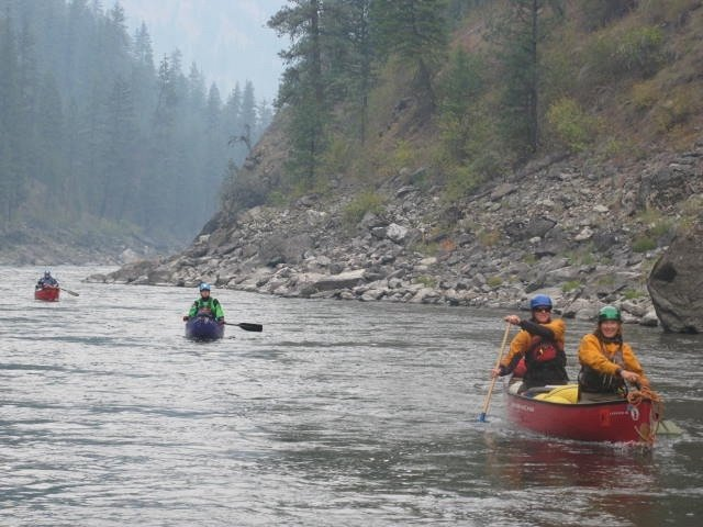 Thriving as Women Boaters on the Main Salmon River