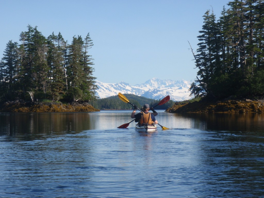Sea Kayaking in Alaska.