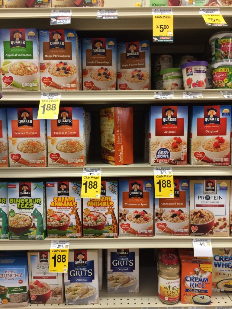 Carb options for instant backpacking meals