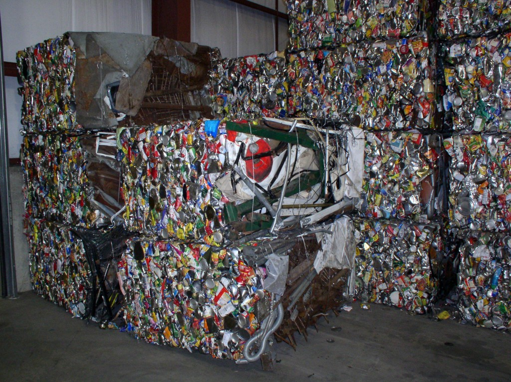 Steel Recycling Bales